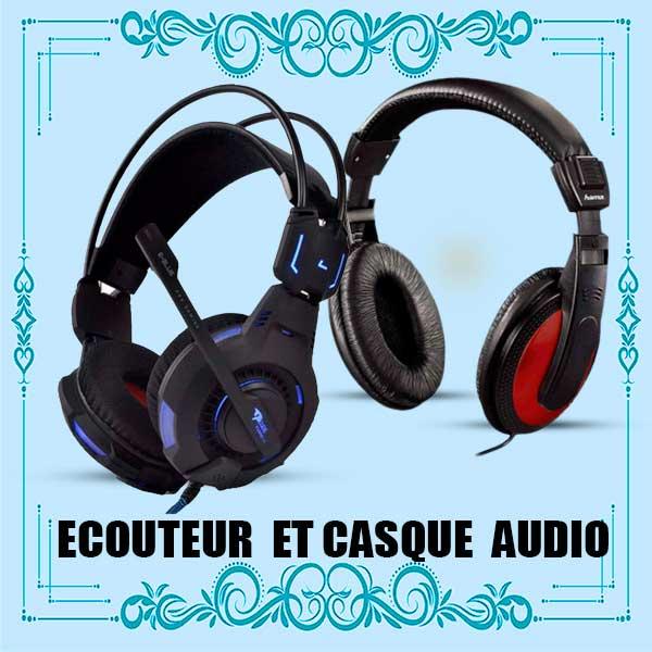 Casques audio